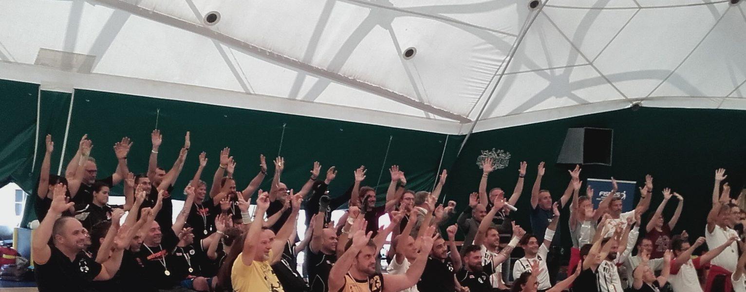 Vittoria tricolore del Padova Rugby al PalaLuiss per il secondo campionato nazionale di rugby in carrozzina
