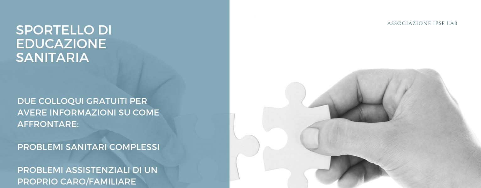 Sportello di Educazione Sanitaria (A Roma): due colloqui gratuiti per comprendere come affrontare il proprio problema di salute