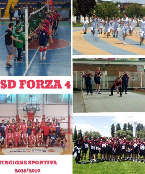Forza 4: quando lo sport abbraccia la solidarietà e l' integrazione